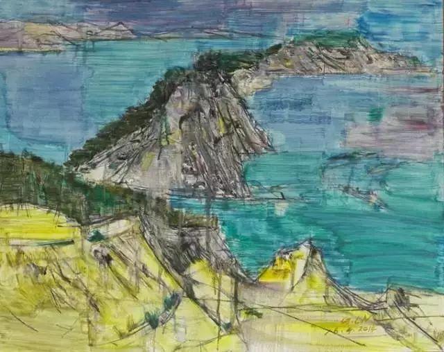 中国油画 40多位名家风景写生插图36