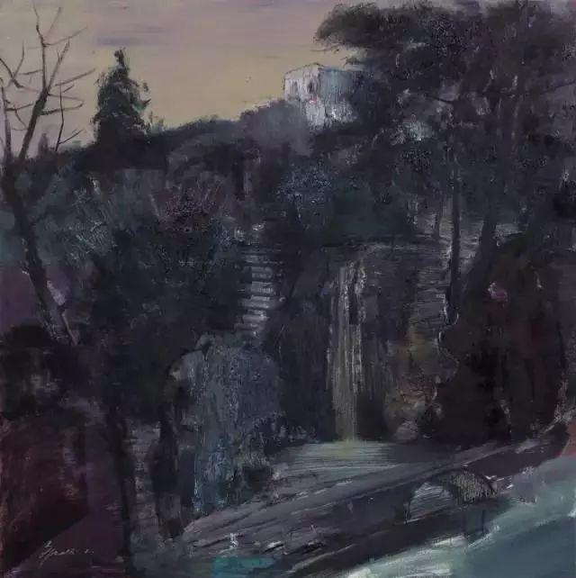 中国油画 40多位名家风景写生插图38
