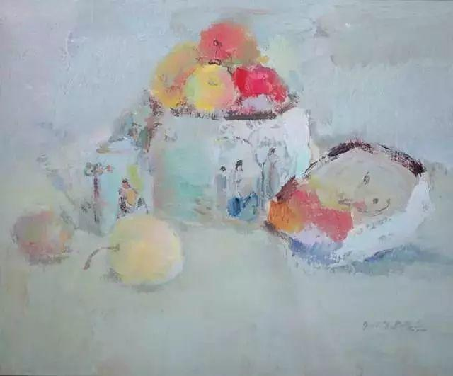 中国油画 40多位名家风景写生插图40