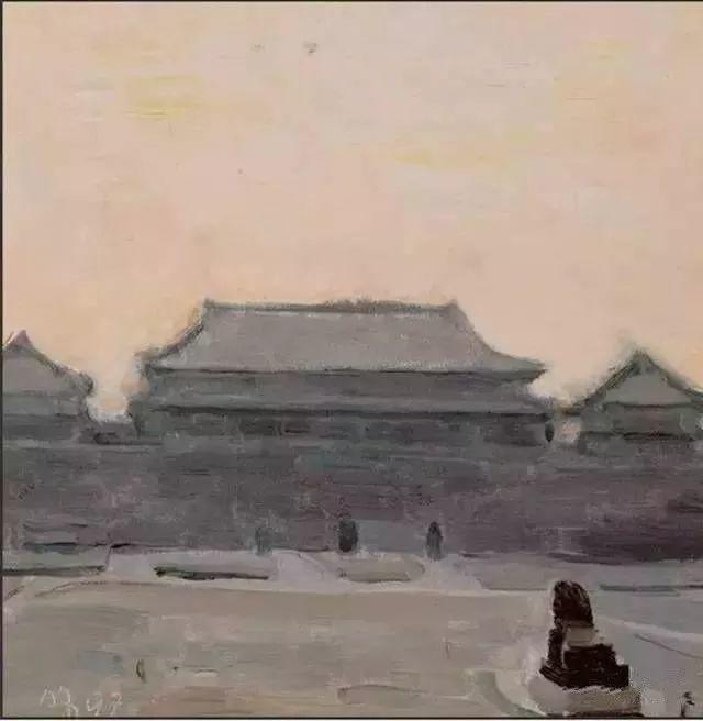 中国油画 40多位名家风景写生插图45