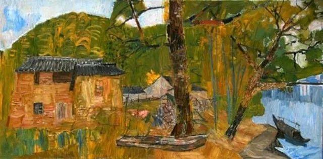 中国油画 40多位名家风景写生插图46