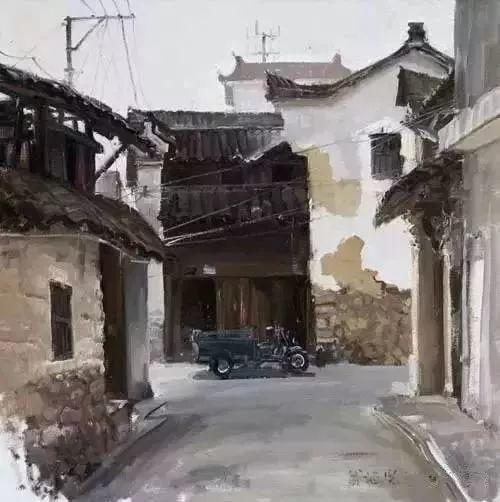 中国油画 40多位名家风景写生插图47