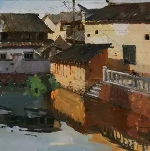 中国油画 40多位名家风景写生插图48