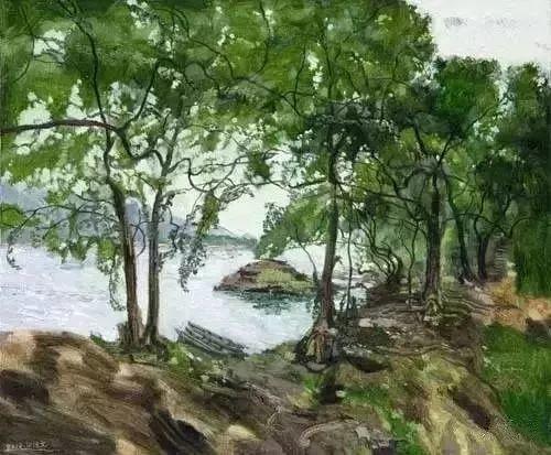 中国油画 40多位名家风景写生插图51