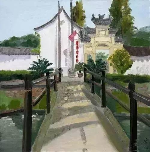 中国油画 40多位名家风景写生插图54