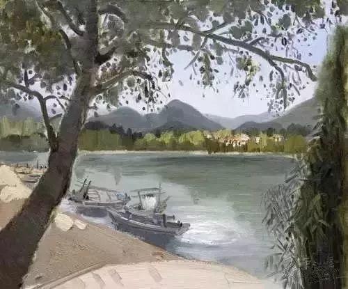 中国油画 40多位名家风景写生插图56
