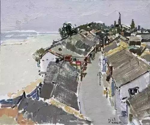 中国油画 40多位名家风景写生插图60