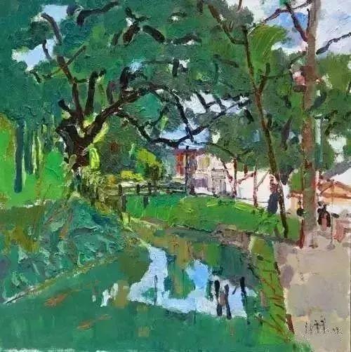 中国油画 40多位名家风景写生插图61