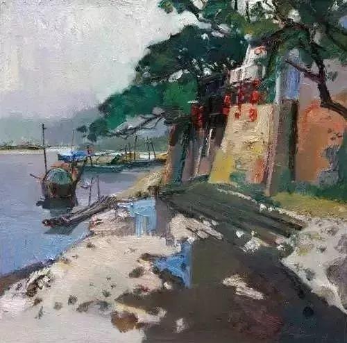 中国油画 40多位名家风景写生插图63