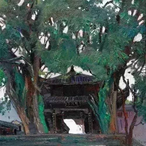 中国油画 40多位名家风景写生插图64