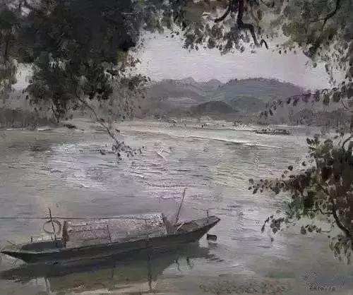 中国油画 40多位名家风景写生插图66