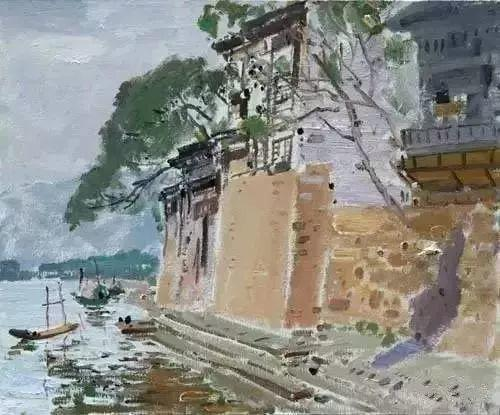 中国油画 40多位名家风景写生插图68