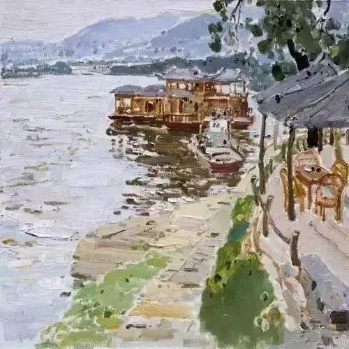 中国油画 40多位名家风景写生插图70
