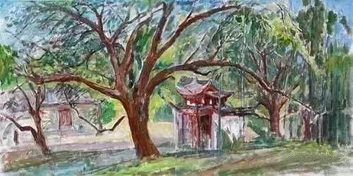 中国油画 40多位名家风景写生插图72