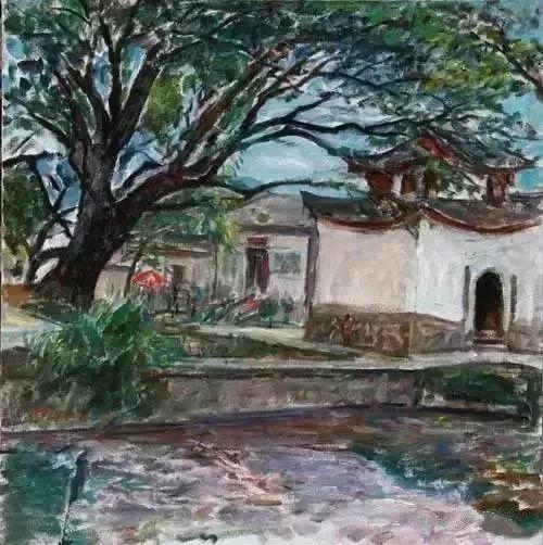 中国油画 40多位名家风景写生插图73