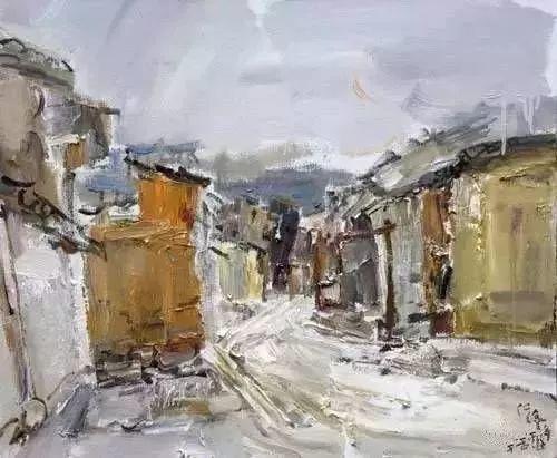 中国油画 40多位名家风景写生插图74