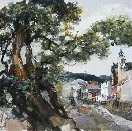 中国油画 40多位名家风景写生插图76
