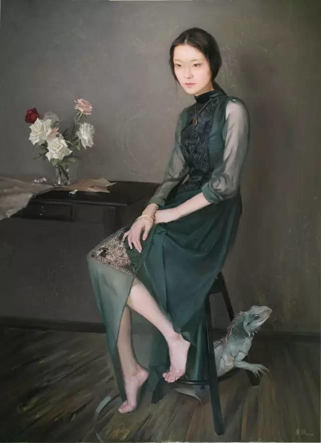 静美如她,用画笔描绘着生活的温馨插图42