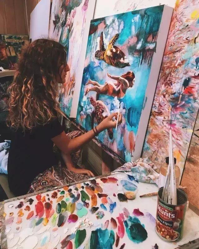 我画我梦,我梦我画——少年女画家Dimitra Milan插图1