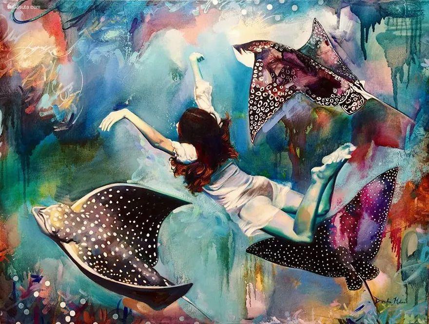 我画我梦,我梦我画——少年女画家Dimitra Milan插图5