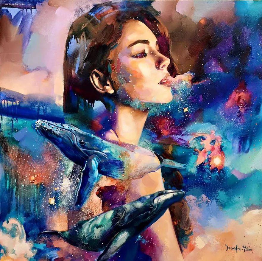 我画我梦,我梦我画——少年女画家Dimitra Milan插图7