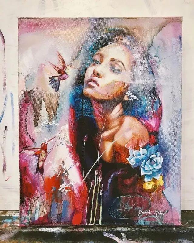 我画我梦,我梦我画——少年女画家Dimitra Milan插图15