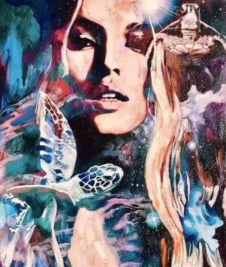 我画我梦,我梦我画——少年女画家Dimitra Milan插图21
