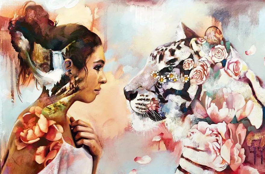 我画我梦,我梦我画——少年女画家Dimitra Milan插图23