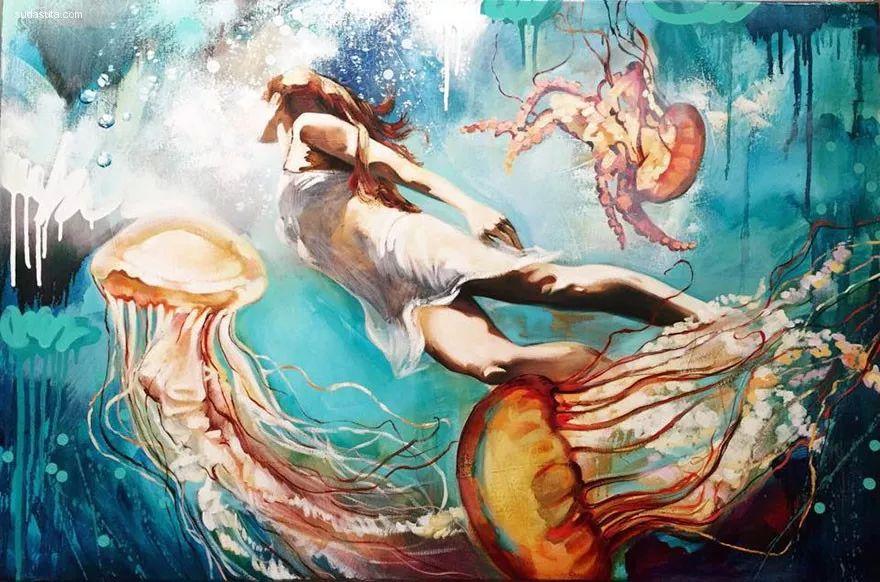 我画我梦,我梦我画——少年女画家Dimitra Milan插图27