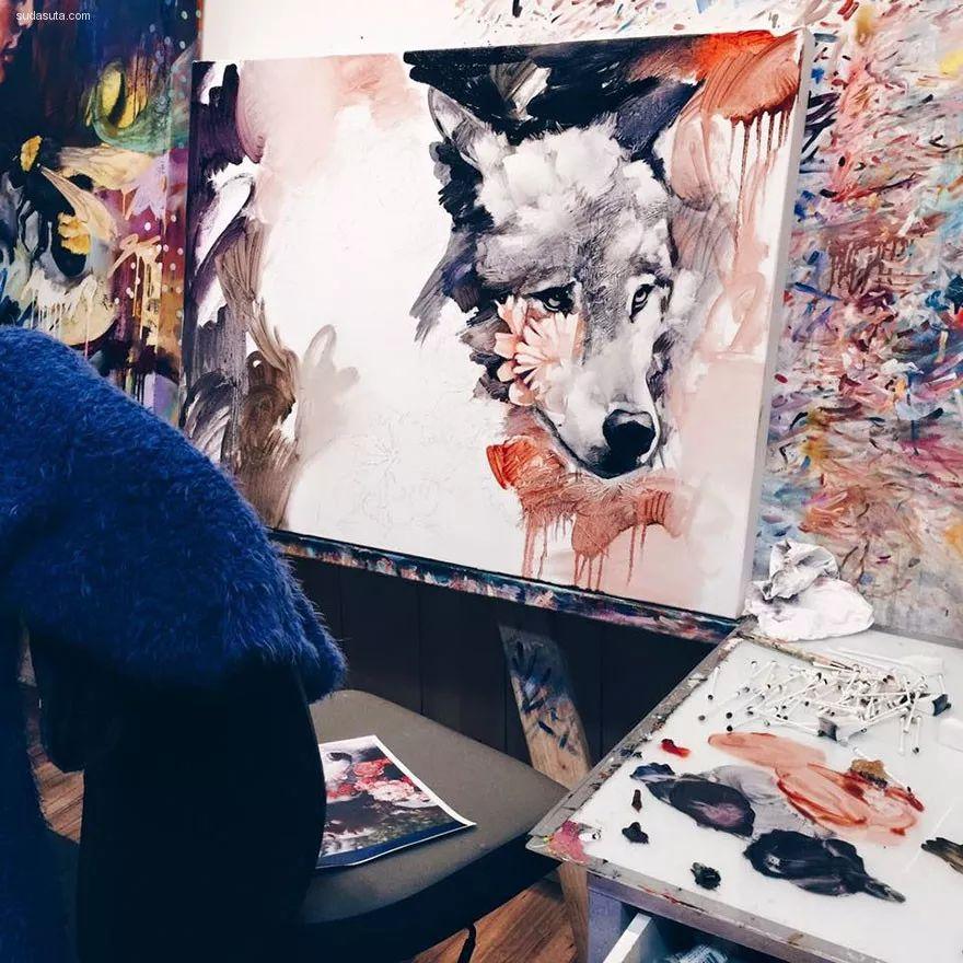 我画我梦,我梦我画——少年女画家Dimitra Milan插图43