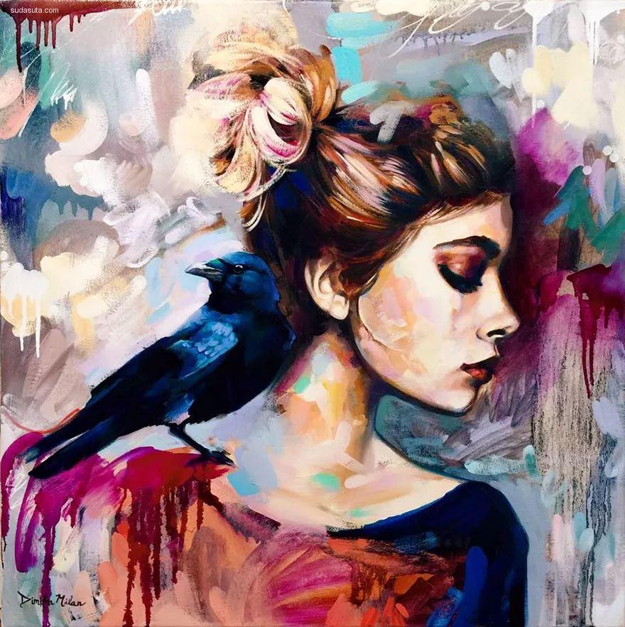 我画我梦,我梦我画——少年女画家Dimitra Milan插图51