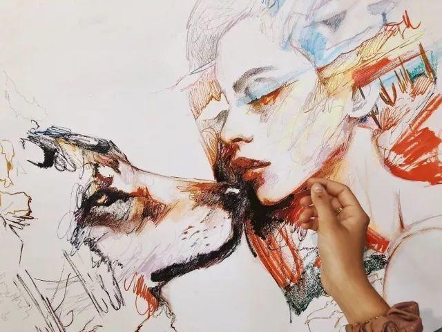我画我梦,我梦我画——少年女画家Dimitra Milan插图53