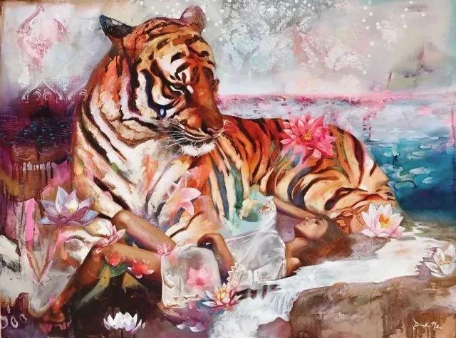 我画我梦,我梦我画——少年女画家Dimitra Milan插图61