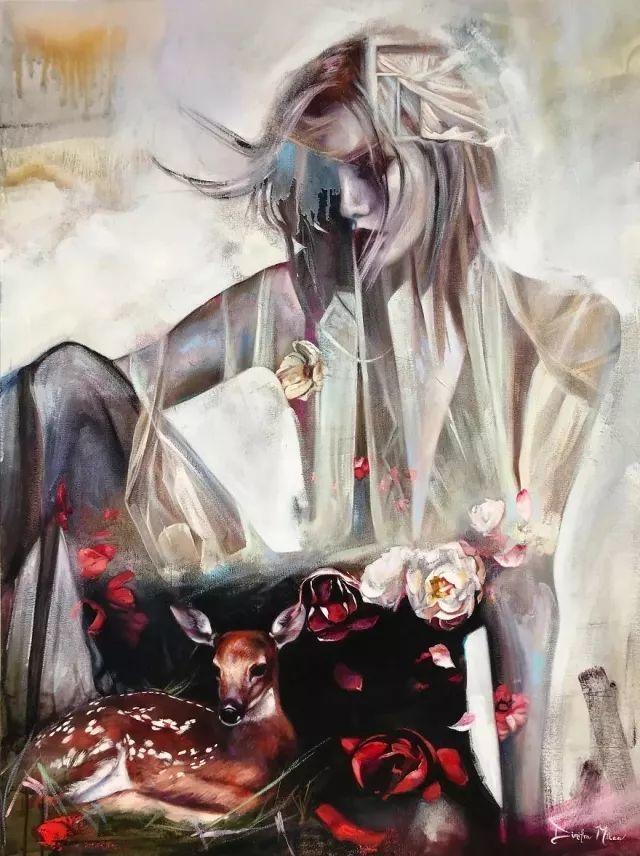 我画我梦,我梦我画——少年女画家Dimitra Milan插图75