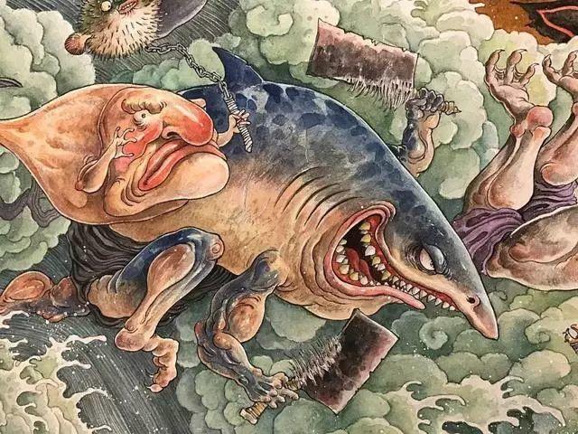 震撼!85后帅哥用笔把奇异怪兽搬出尘封的历史插图19