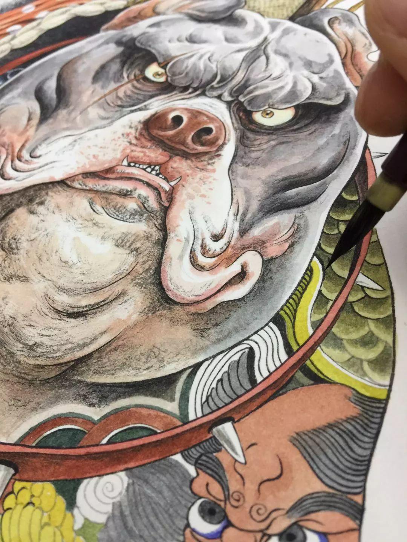 震撼!85后帅哥用笔把奇异怪兽搬出尘封的历史插图47