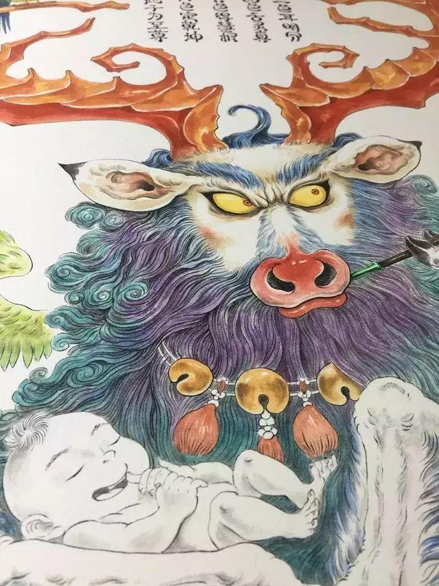 震撼!85后帅哥用笔把奇异怪兽搬出尘封的历史插图83