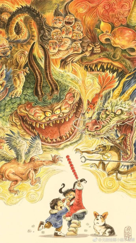 震撼!85后帅哥用笔把奇异怪兽搬出尘封的历史插图121