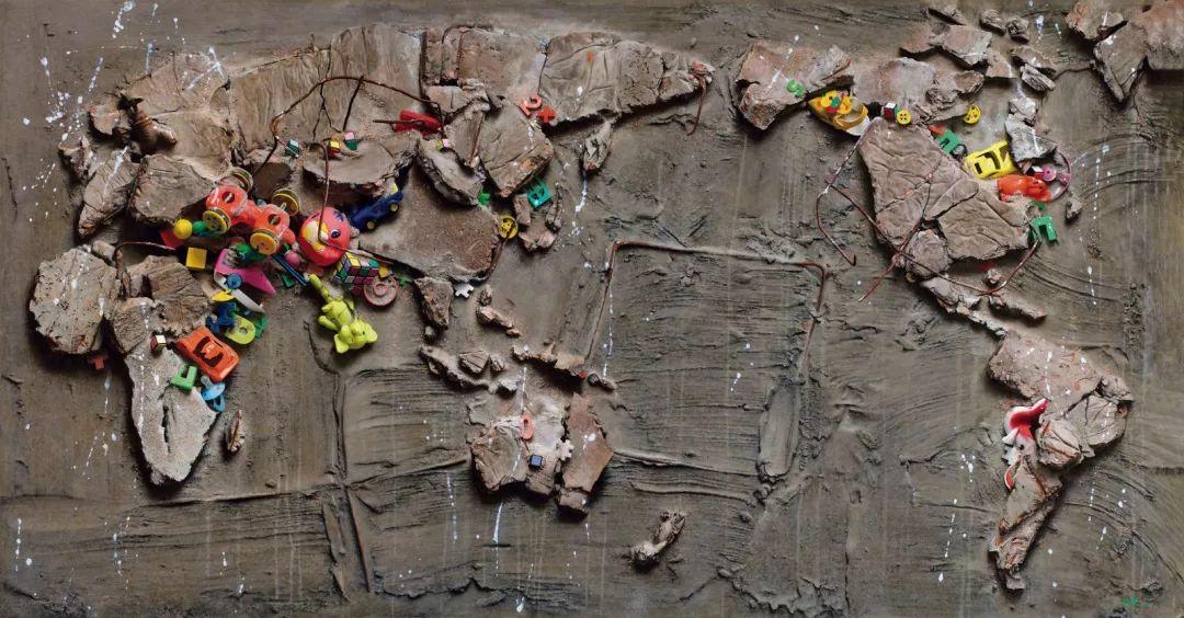 冷军《世纪风景之三》在中国嘉德4370万元成交插图1
