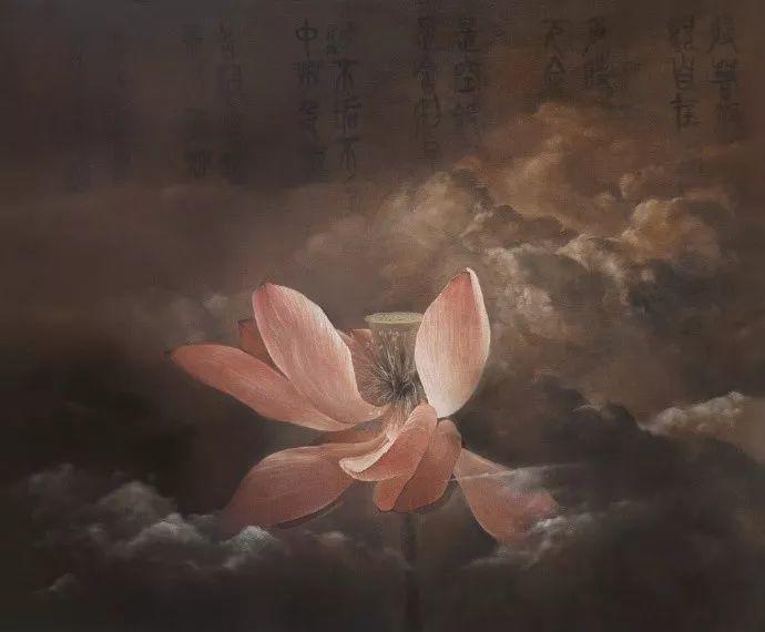 """她被媒界喻为""""荷画美人"""",亦被称为中国最年轻的女画家插图15"""