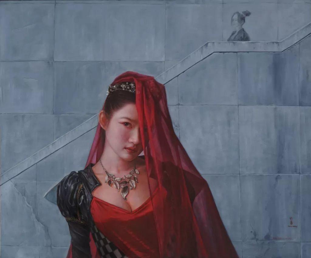 """她被媒界喻为""""荷画美人"""",亦被称为中国最年轻的女画家插图28"""