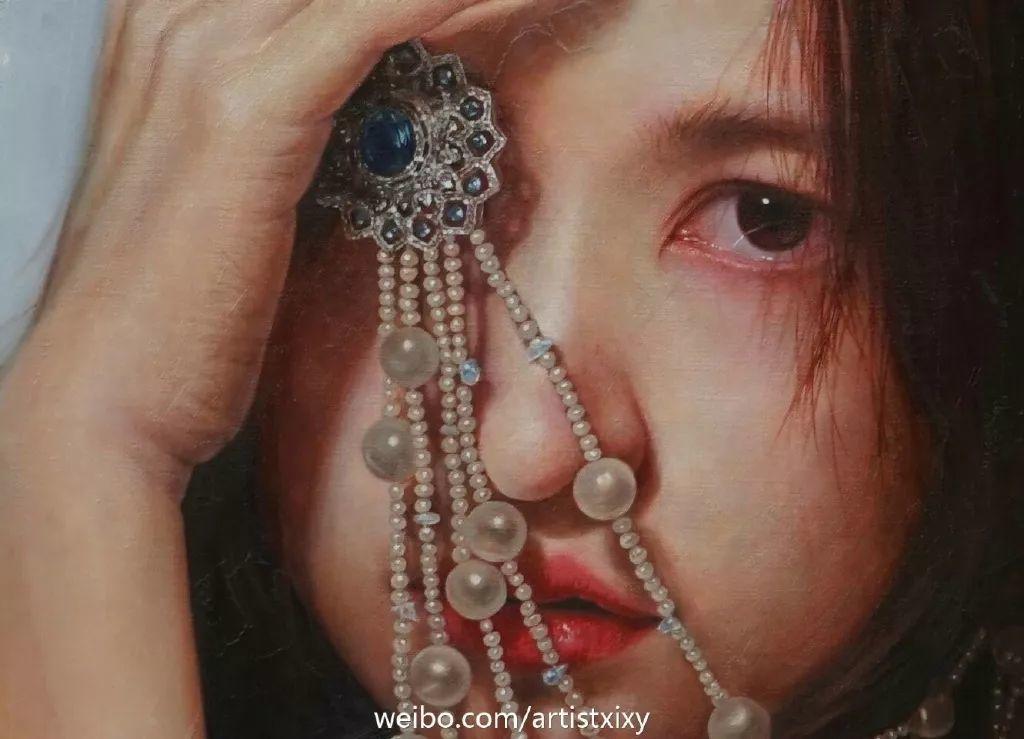 """她被媒界喻为""""荷画美人"""",亦被称为中国最年轻的女画家插图32"""