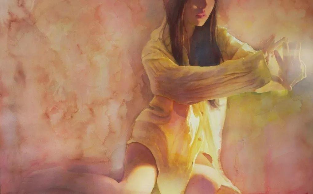 """她被媒界喻为""""荷画美人"""",亦被称为中国最年轻的女画家插图34"""