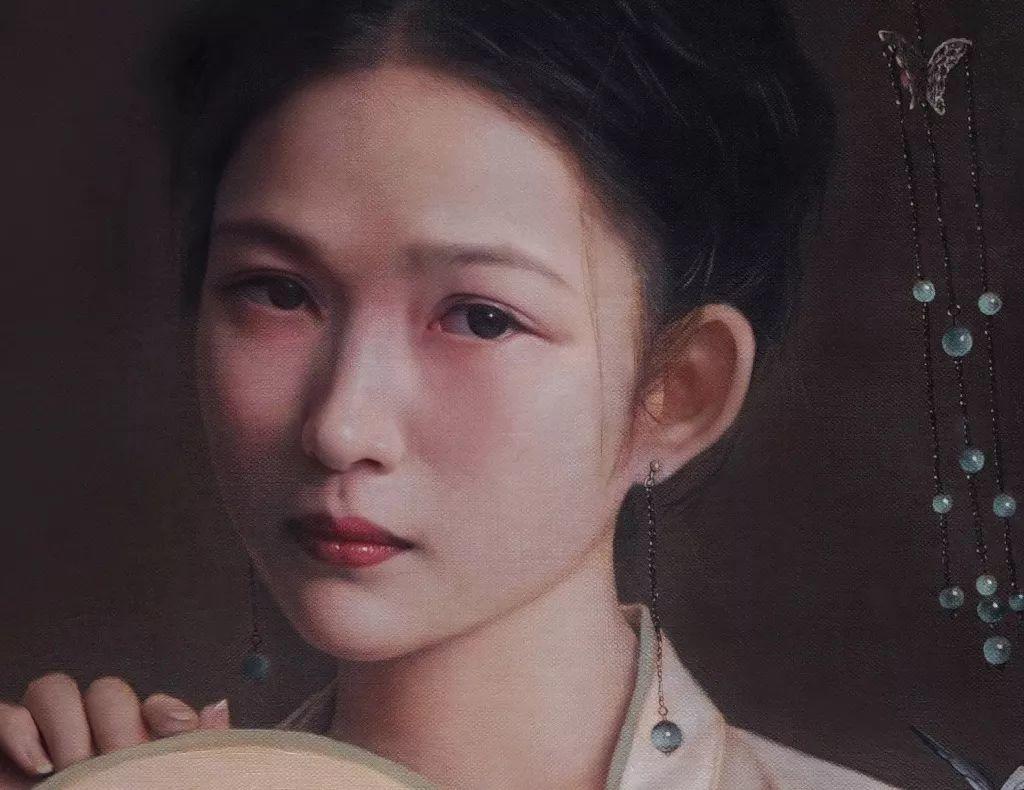 """她被媒界喻为""""荷画美人"""",亦被称为中国最年轻的女画家插图37"""