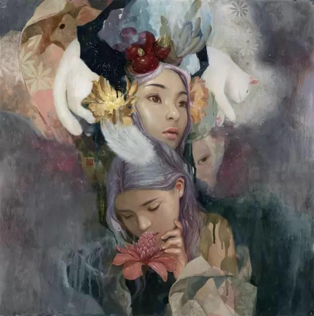 东方女性的娇柔与性感——韩国Soey Milk高颜值女画家插图1