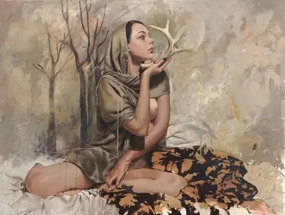 东方女性的娇柔与性感——韩国Soey Milk高颜值女画家插图14