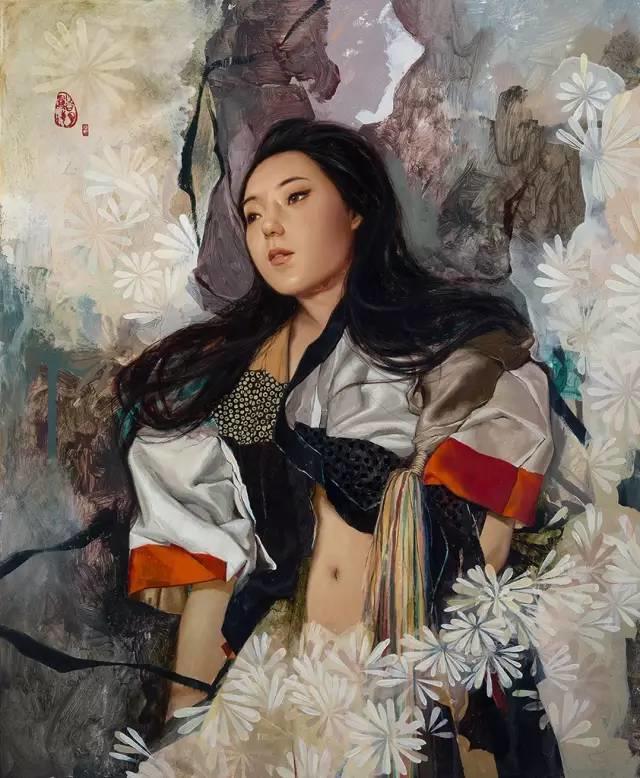 东方女性的娇柔与性感——韩国Soey Milk高颜值女画家插图16