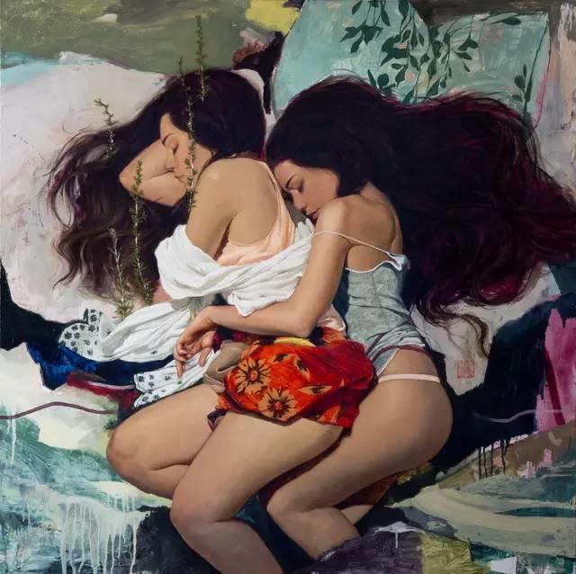 东方女性的娇柔与性感——韩国Soey Milk高颜值女画家插图26