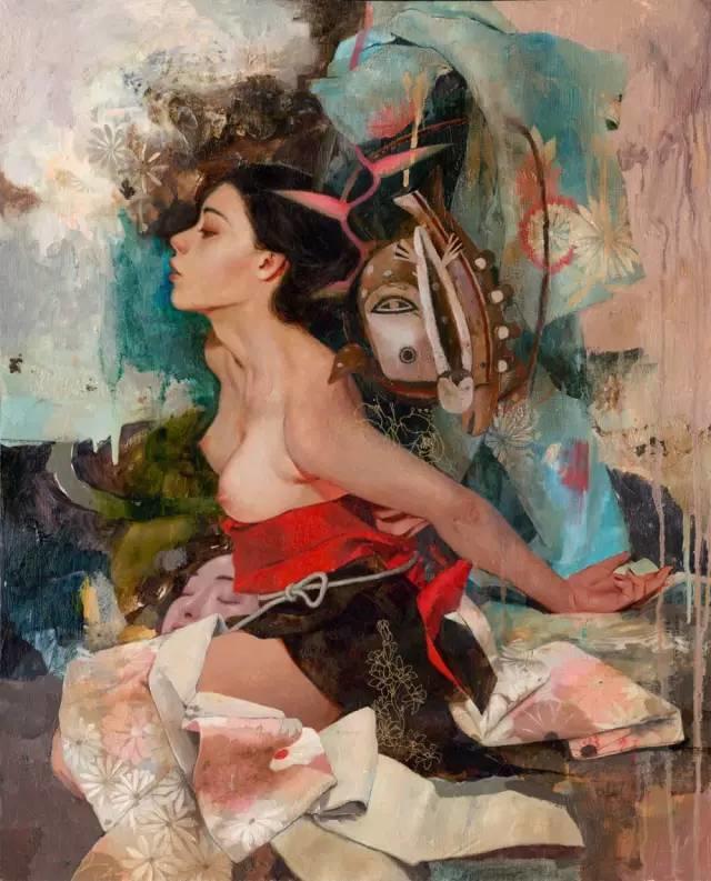 东方女性的娇柔与性感——韩国Soey Milk高颜值女画家插图28