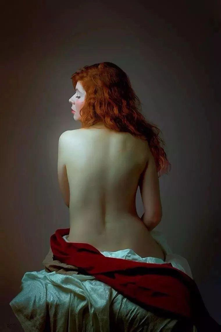 美得像油画——丰腴女人体摄影插图29